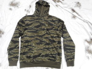 a4c8e28ea8cb0 US VIETNAM WAR cambodia made SF TIGER STRIPE CAMO SWEATSHIRT HOODY ...