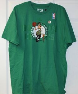 Dettagli su Adidas ''B'' Grado Prima Maglietta Boston Celtics Verde T Shirt con Celtics Logo