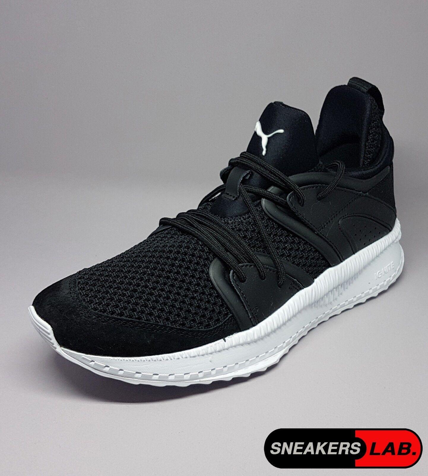 363745-01 Puma Tsugi Blaze Black White Men Sneakers Size 8US (7UK, 40.5EUR)