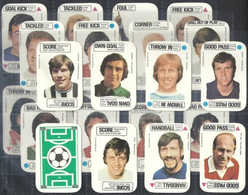 FOOTBALL CARD GAME EXC A/&BC-FULL SET M22 CARDS