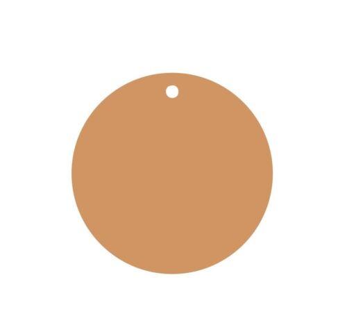 25//50//75//100 CADEAU pendentif étiquettes jour papier remorque cercle