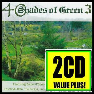 40-SHADES-OF-GREEN-3-2-CD-FOSTER-amp-ALLEN-MARY-DUFF-FUREYS-IRISH-IRELAND-NEW