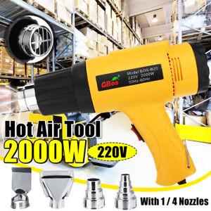 2000W-220V-Handheld-Hot-Air-Gun-Tool-Electric-Hot-Air-Heater-4-Nozzles-EU