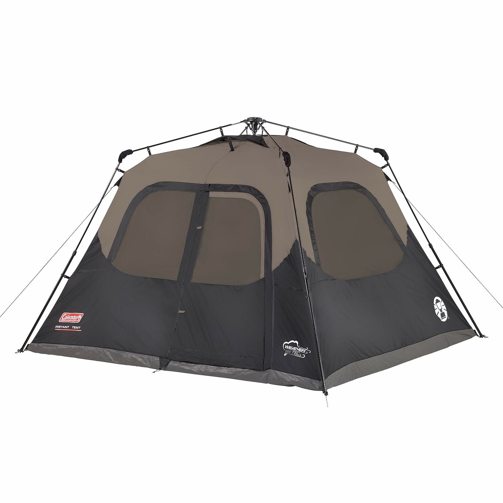 Coleman 6-Person Cabin Tent with Instant  Setup,Cabin Tent Camping Set Up in 60 S  the best after-sale service