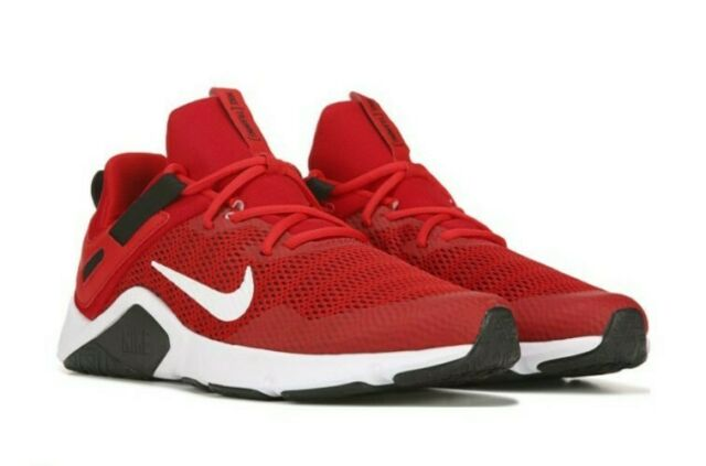NIKE Rare Size: 11.5 LEGEND ESSENTIAL Men's RED Running Shoes CD0443-600