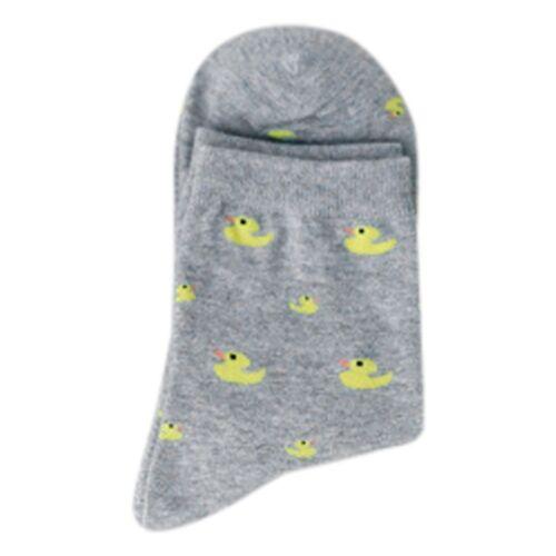 New Cartoon Cute Animal Duck Pattened Short Socks Autumn And Winter Long Socks