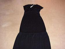 New DKNY holiday season dress L jurk black nwt woman's cocktail gala ball gown