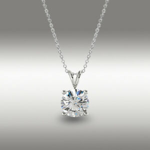1-Ct-Round-Brilliant-Cut-Solitaire-Pendant-Solid-14k-White-Gold-16-034-2-034-Necklace