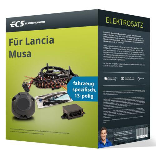 spezifisch ABE ECS Electronics Für Lancia Musa Elektrosatz 13-pol