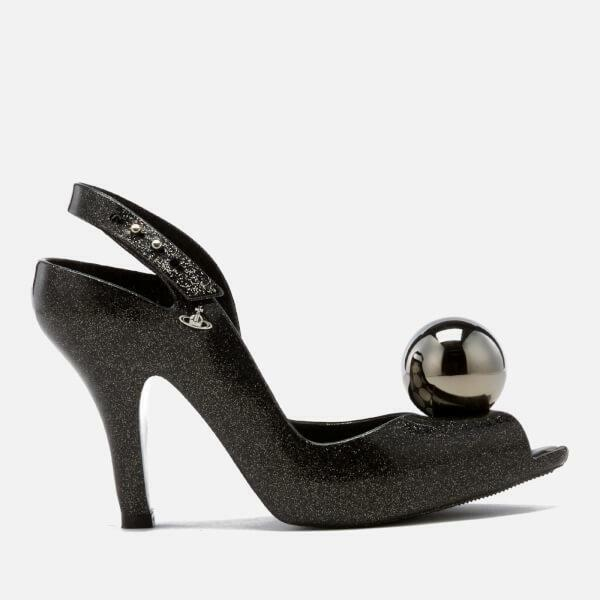 Vivienne Westwood Anglomania MELISSA Lady Dragon Glitter Globe Scarpe Nuovo Con Scatola Uk 5