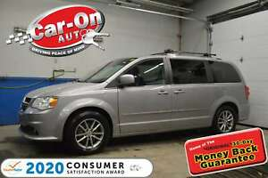 2015 Dodge Grand Caravan SXT PREMIUM PLUS | LEATHER/SUEDE | LOADED