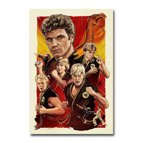Cobra Kai TV Series Art Silk Canvas Poster 13x20 24x36 inch