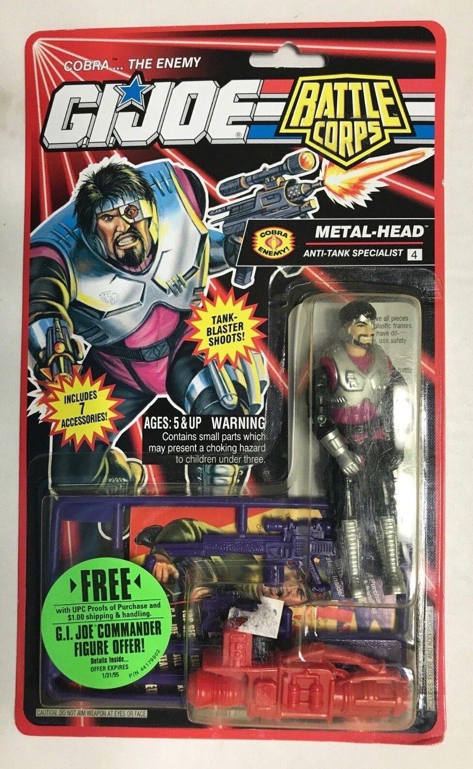 1993 gi joe kampf corps - metal-head anti - panzer - spezialist - ungeöffnet auf der karte)