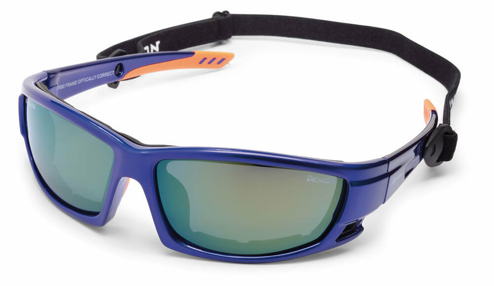 DEMON PIZ Blau Orange CAT4 Anti-Fog Sportbrille Gletscherbrille TR90