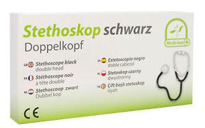 Stethoskop-Stetoskop-Doppelkopf-Rettungsdienst-ARZT-TOP-QUALITAT-Baby-Praxis