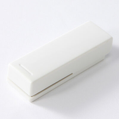 MUJI MoMA Polycarbonate portable stapler good-simply designed [white]