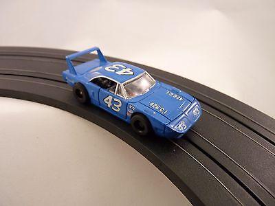 Elektrisches Spielzeug Tyco 25002 Hp7 Auto Superbird #43 Blau Slotcar Elegant In Style Spielzeug