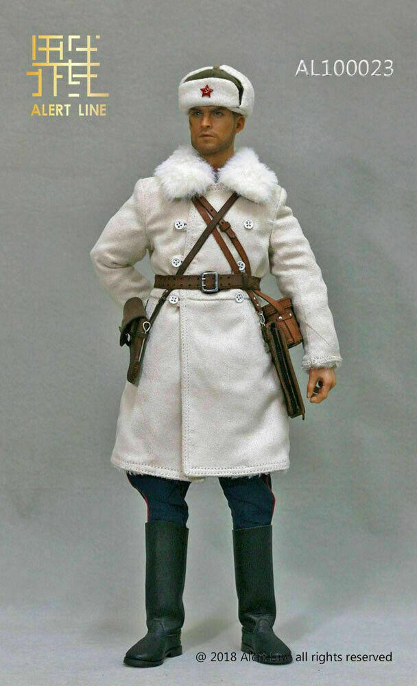 Alert Line 1 6 AL100023 1942 rosso Army Lieutenant Officer Costume Fit 12  Figure