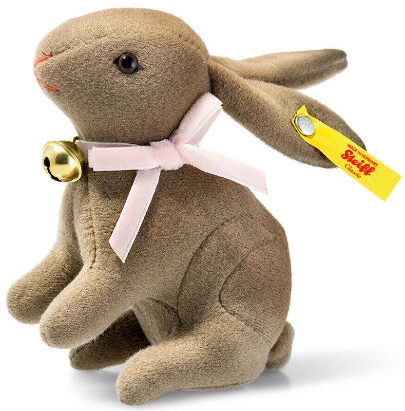 Steiff NOCCIOLA MARRONE Coniglio in confezione regalo - 11cm - EAN 033032