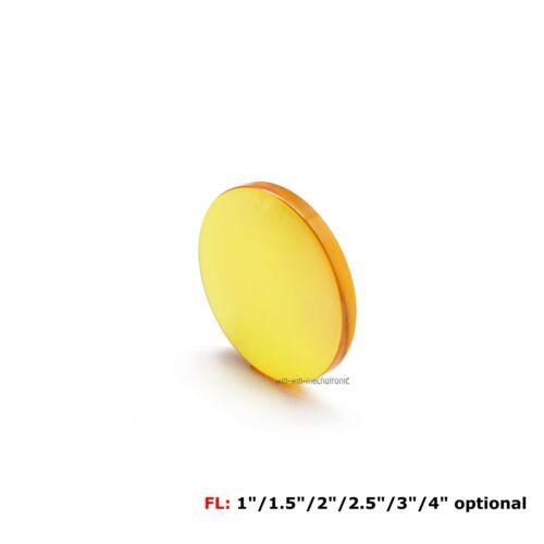 "1/"" 1.5/"" 2/"" 2.5/"" 3/"" 4/"" 5/""200W-400W II-VI Znse Focus Lens Dia 25mm FL"