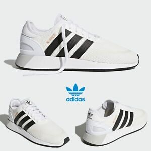 d0ba2166b Adidas Original Iniki Runner N-5923 Shoes Running White Black AH2159 ...