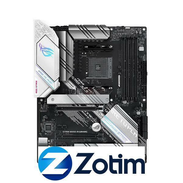 Asus ROG STRIX B550-A Gaming, ATX, AMD Ryzen,M.2 Slot,1 x PCIe 4.0, Ethernet, DP
