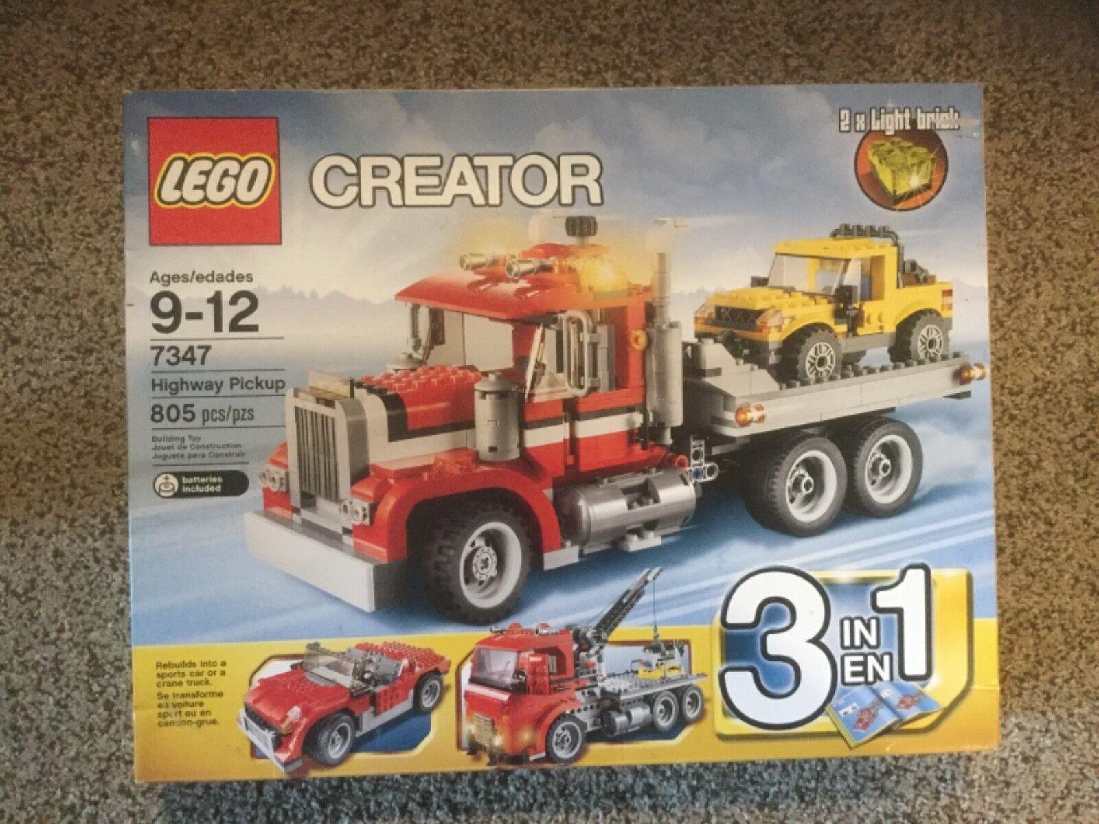 Nuevo en caja Lego Creator autopista Pickup (7347)