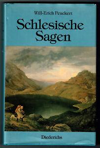 Schlesische-Sagen-von-Will-Erich-Peukert-1-Neuausgabe-von-1989