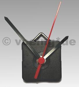Quarzuhrwerk-mit-Sekundentakt-inkl-Zeigersatz-amp-Montage-Zubehoer-Quarzuhr-Uhrwerk