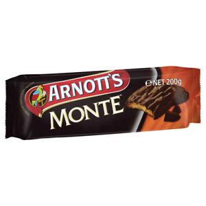 Arnott's Monte Chocolate Biscuits 200g