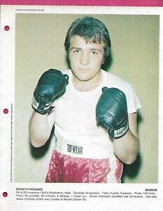 RARE-1970S-BOXING-DONATO-PADUANO-DERNIERE-HEURE-8-X-11-PHOTO