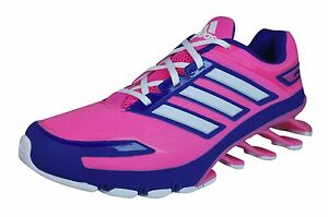 7645ed6f29c8 Image is loading adidas-Springblade-Womens-Running-Trainers-Pink-M21149GS5
