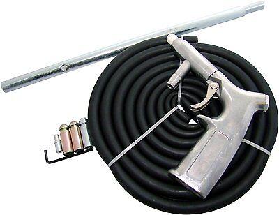 AIR SAND BLASTER GRIT SHOT BLASTING SANDBLASTER GUN SANDBLASTING KIT COMPRESSOR