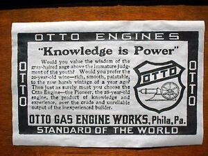 "158L VINTAGE REPRINT ADVERT HERCULES HIT /& MISS GAS ENGINE 11/""x17/"""
