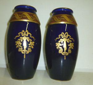 Superbe Paire De Vase St Radegonde Signes Asch ! Promouvoir La Santé Et GuéRir Les Maladies