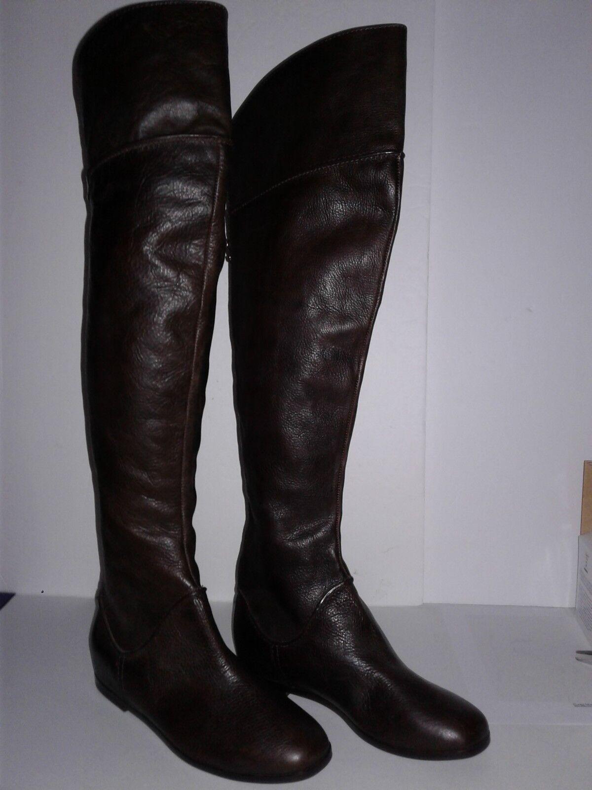 Via Spiga 'Georgia' Over the Knee Boot- Braun - Größe 6 M   (A2)