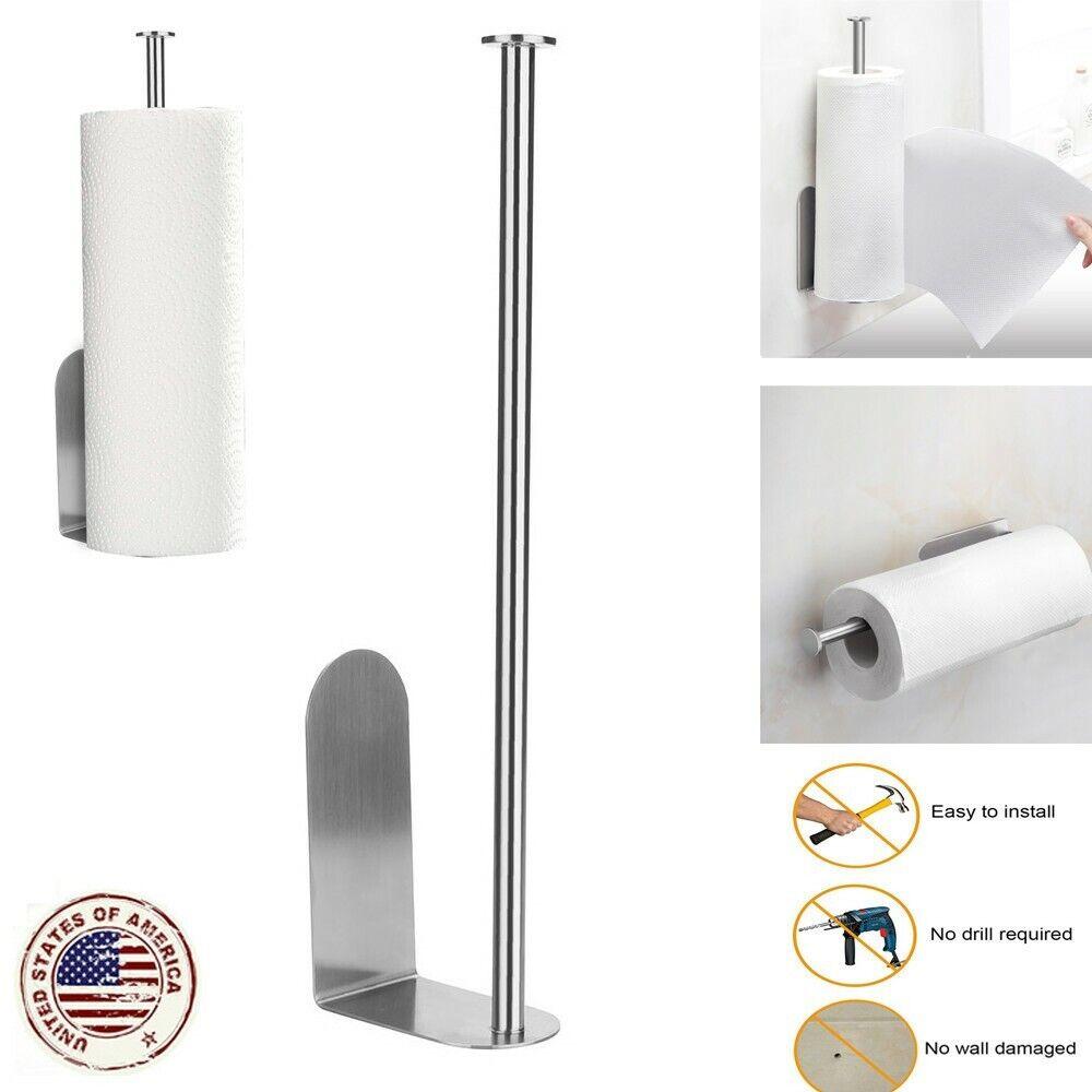 Paper Holder Storage Rack Vertical Diversified Paper Towel H
