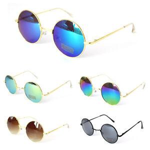 3 für 2 - Sonnenbrille John Lennon Nickelbrille runde Brille verspiegelt Hippie C5vmtDLAxr