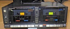 VINTAGE-TECHNICS-Doppia-piastra-a-cassette-modello-Rs-1w-1982-NASTRO-HIFI-RETR-Giappone