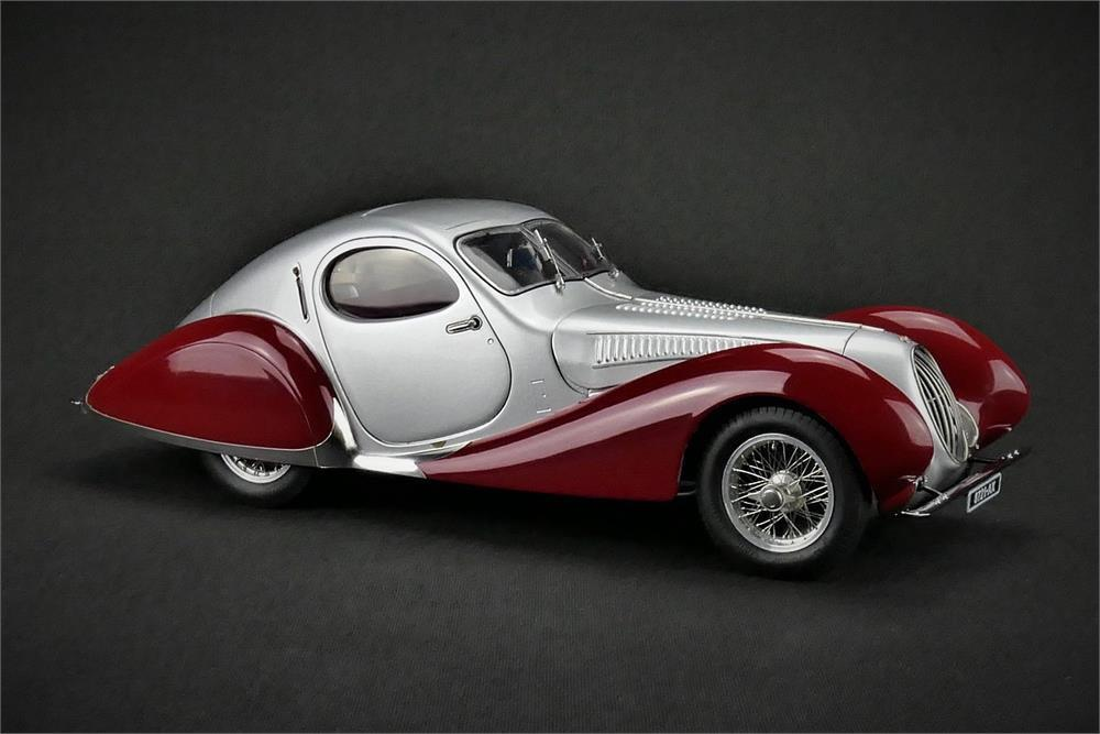1938 Talbot Lago Coupe Type 150 SS Teardrop Silber rot by CMC   CMC165