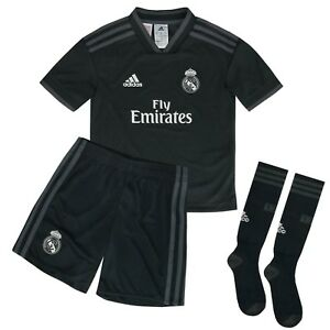 df59121a0 ADIDAS REAL TO MINI SET OFFICIAL REAL MADRID CHILD 2018 19 CG0560 ...