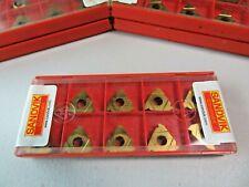 Sandvik R1660g 16rd01 100 1020 Carbide Threading Inserts 1 Pack 10 Inserts