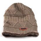 Cotton Knit Baggy Cap Mens Womens Winter Warm Hip-hop Beanie Crochet slouch Hat