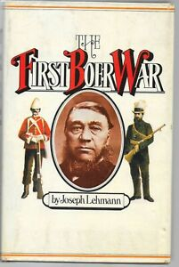 THE-FIRST-BOER-WAR-BY-JOSEPH-LEHMANN-HB-WITH-DJ-FREE-SHIPPING-IN-USA