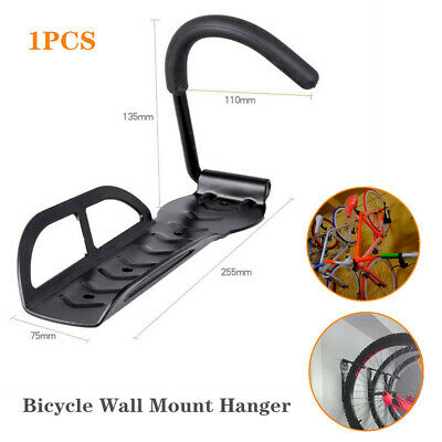 1×Wall Mount Bike Hanger Storage Rack Mount Hanger Fixed Hook Holder For Garage