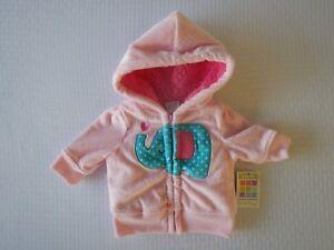 ccb3a0bad Healthtex Infant Baby Toddler Girls Pink Jacket Sweatshirt Fleece ...