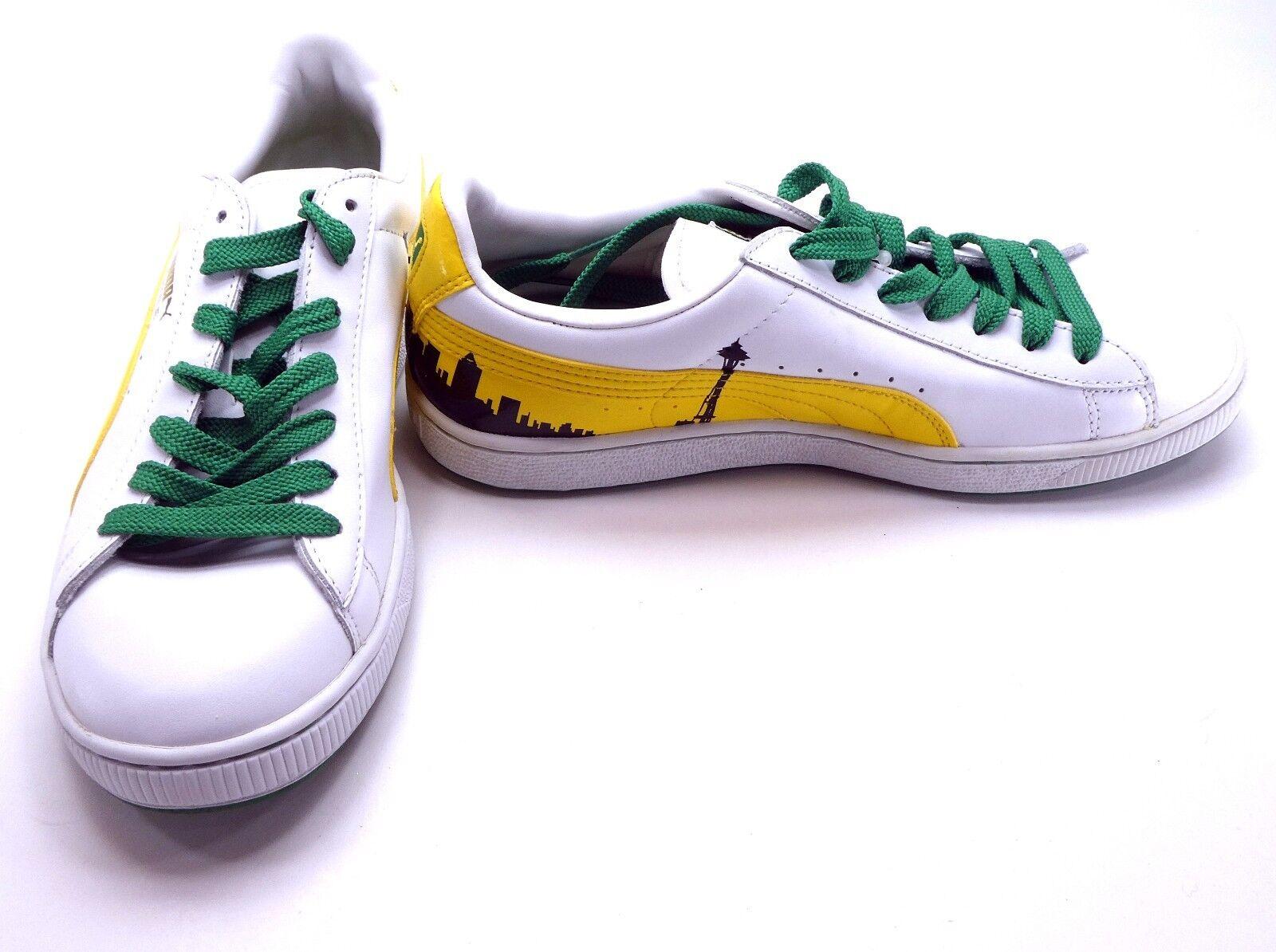 Basket Zapatos Blanco Blancoamarilloverde Champs Años 70 Puma FwnTEqaT