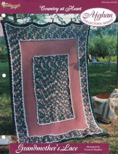 Grandmother-039-s-Lace-Country-at-Heart-Afghan-Pattern-The-Needlecraft-Shop-TNS