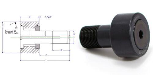Enduro CFH 1.875 SB cam follower bearing RBC H60 heavy stud HD  McGill CFH178SB