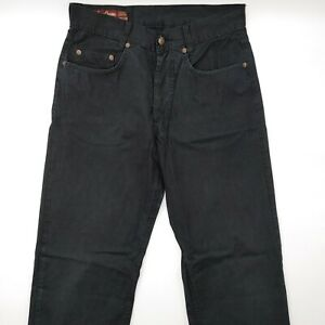 Marlboro-Classics-W29-L30-schwarz-Herren-Jeans-Hose-Denim-Designer-Mode-VTG-Men